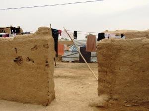 Il villaggio di Omar, a Kirkuk (Foto: Chiara Cruciati)