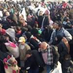 La fuga dei siriani da Aleppo