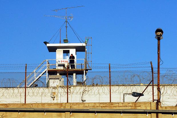 La prigione di Shikma, nei pressi di Ashkelon, nel sud di Israele