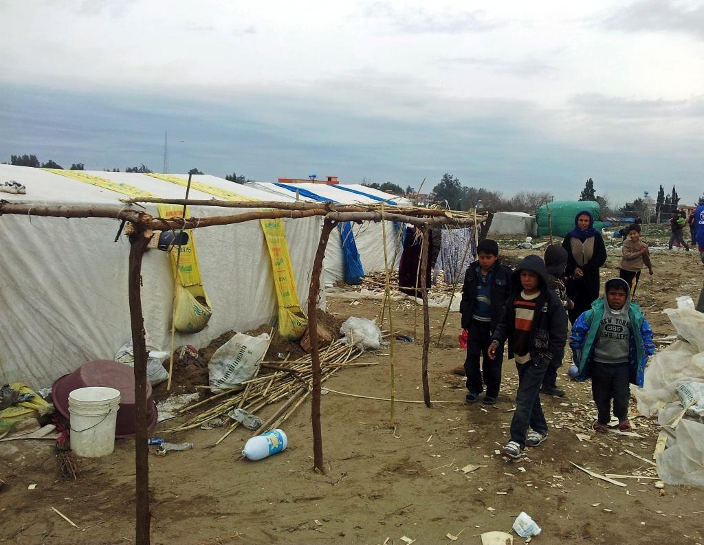 Il campo profughi di Robar (Foto: Federica Iezzi/Nena News)