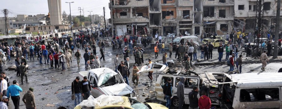 Gli attacchi a Damasco (Fonte: Your News Wire)