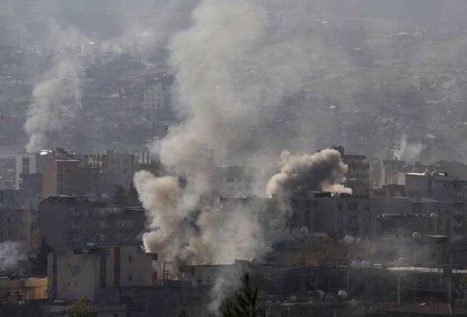 Bombardamenti a Cizre (Fonte: Bestanews.com)