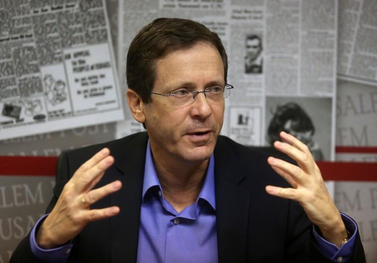 Il leader dei laburisti Herzog (Foto: Marc Israel Sellem)