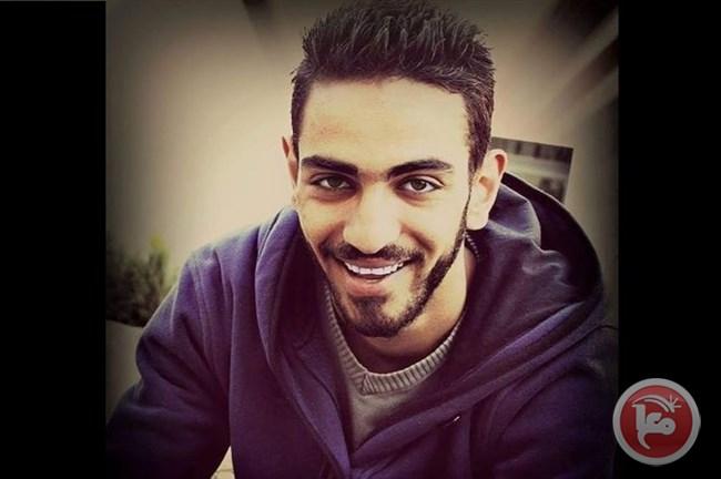 Il 22enne Iyad Amr Sahdiyeh ucciso stanotte a Qalandya (Foto: Ma'an)