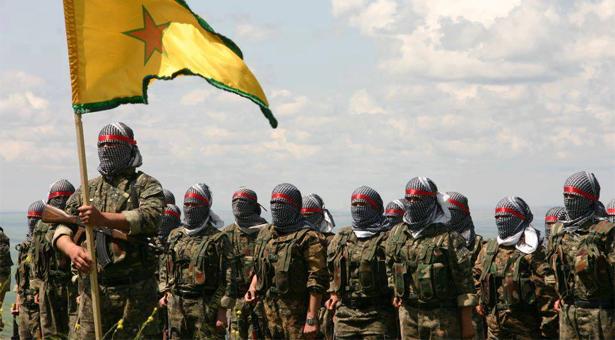 Combattenti curdi delle Ypg