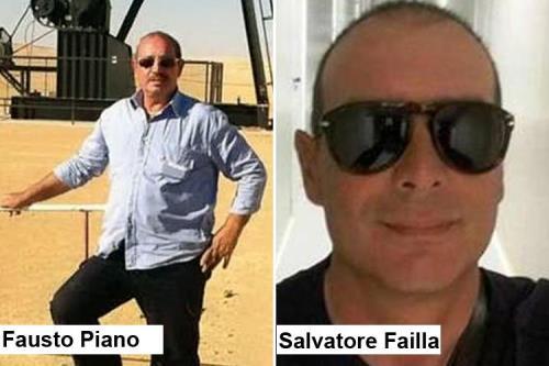 I due italiani uccisi in Libia