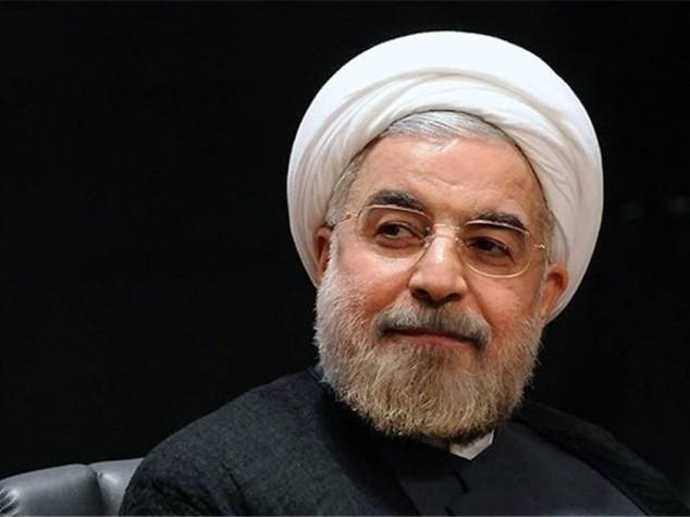 Il presidente iraniano Hassan Rouhani (Fonte: Agi)