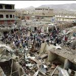 YEMEN. Raid saudita su un mercato: 41 morti