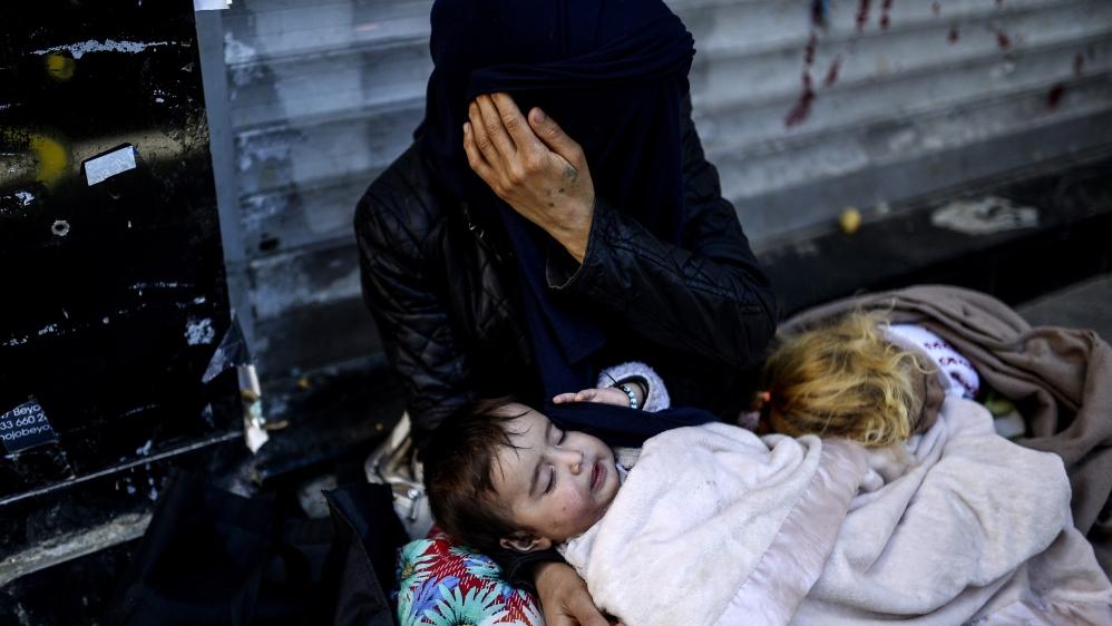 Una famiglia siriana (Foto: Unchr)