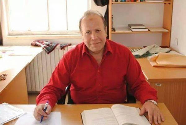 Il professore Imad Barghouthi