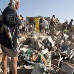 Bombe a grappolo sulle macerie dello Yemen
