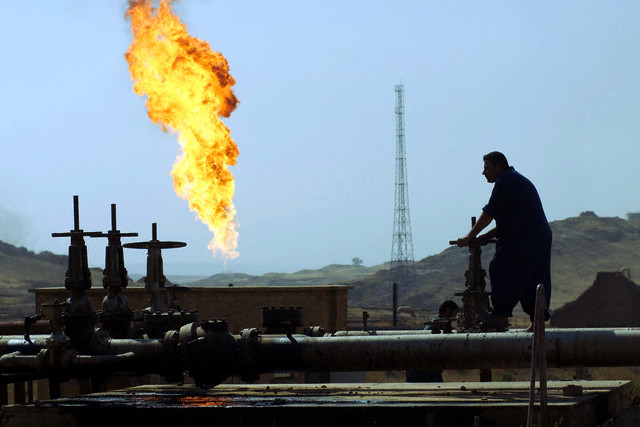Oil field in Iraq (Source: Global Research)
