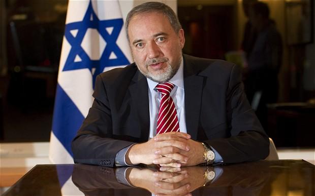 Il capo di Yisrael Beitenu, Avigdor Lieberman