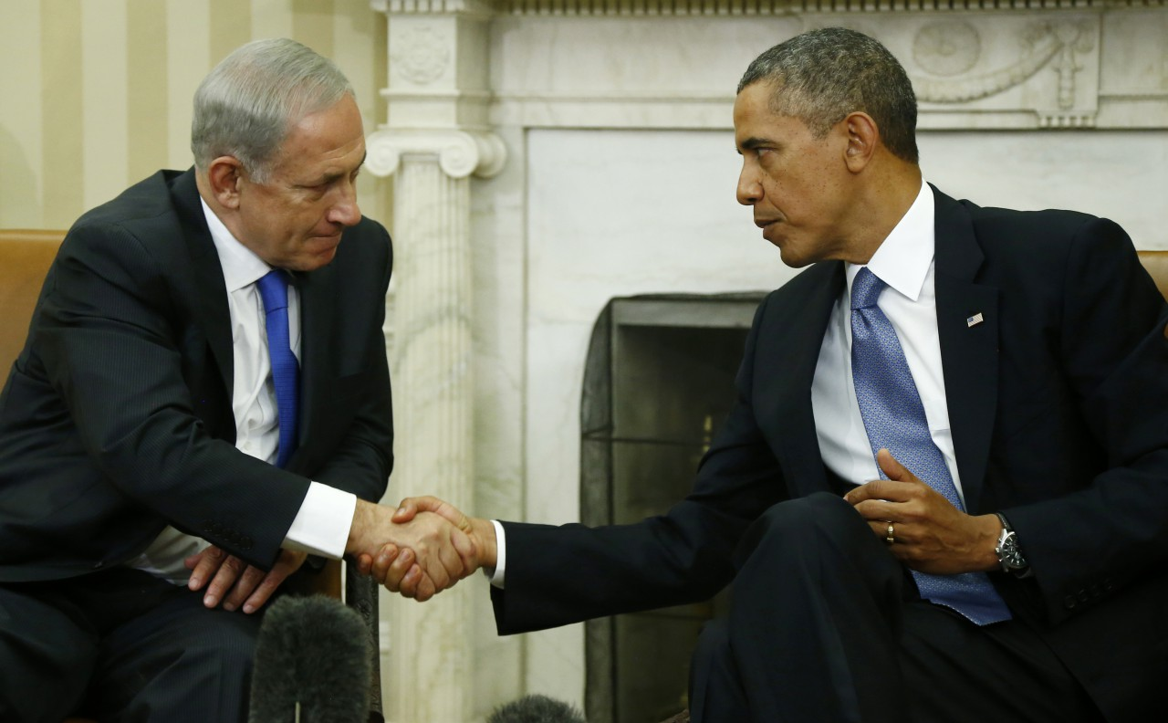 Il premier israeliano Benjamin Netanyahu (a sinistra) e il presidente Usa Barack Obama (a destra)