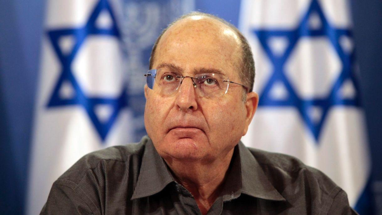 L'ex ministro della difesa israeliano, Moshe Ya'alon