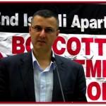 PALESTINA. Gli Usa negano l'ingresso a Omar Barghouti