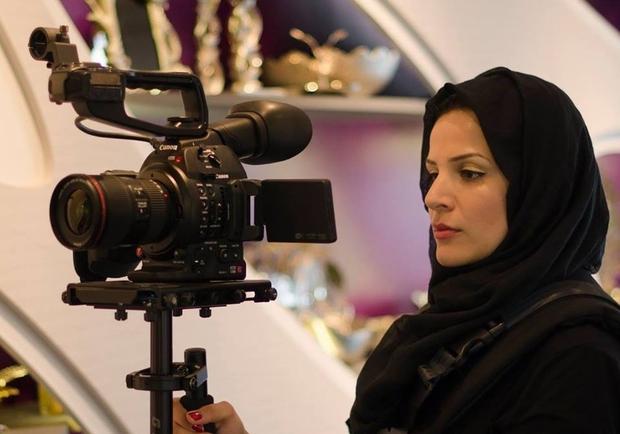 La regista Hoda Yahya Elsoudani