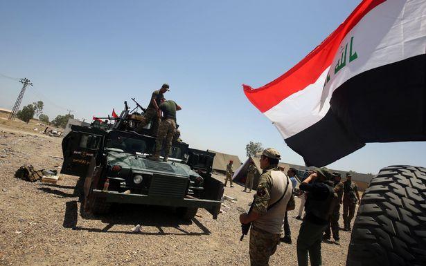 Forze armate irachene riconquistano Fallujah. (Foto: Getty images)