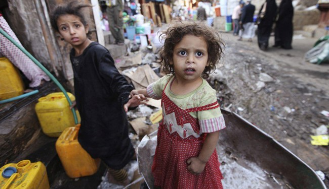 UNICEF: Yemeni Children Bearing Brunt of Saudi War