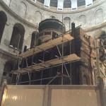 GERUSALEMME. Santo Sepolcro. Al via il restauro della Tomba di Cristo
