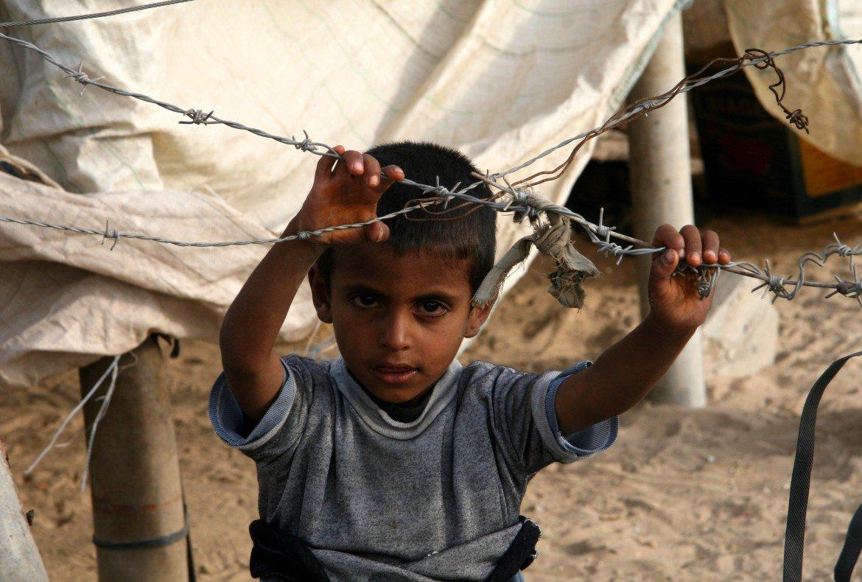 Un bambino ad Hasakah, Siria (Foto: Federica Iezzi)