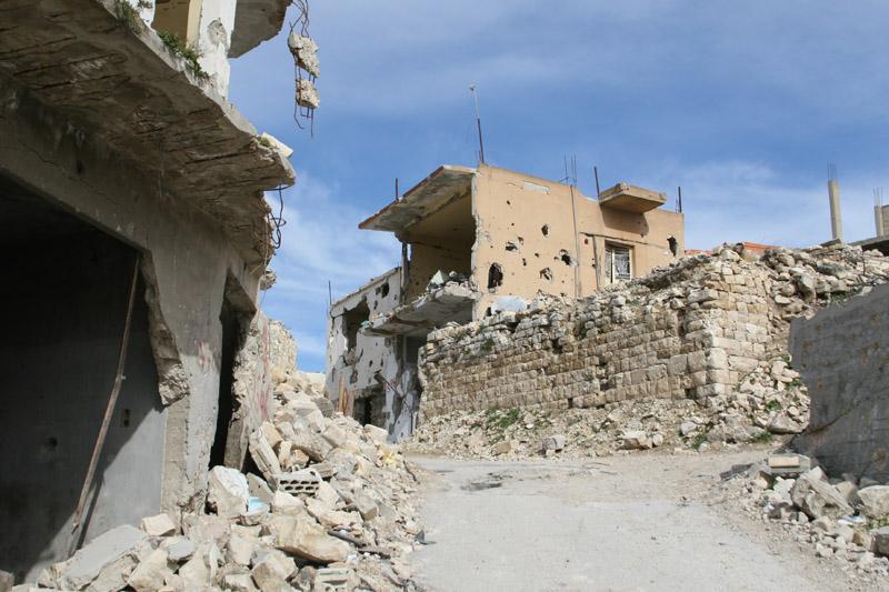 Bint Jbeil, uno dei centri abitati colpiti con più forza dai bombardamenti israeliani del 2006