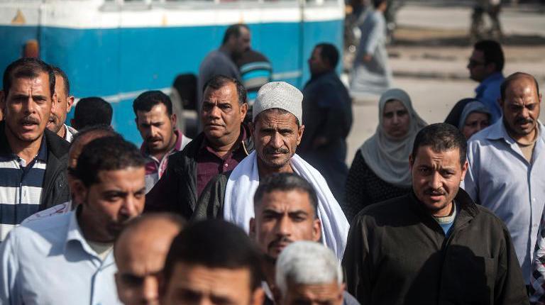 I lavoratori della Alexandria Shipyard Company (Fonte: Daily News Egypt)