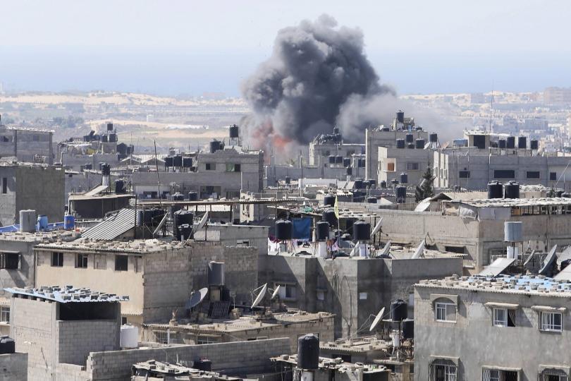 Un raid contro la Striscia di Gaza (https://southfront.org)