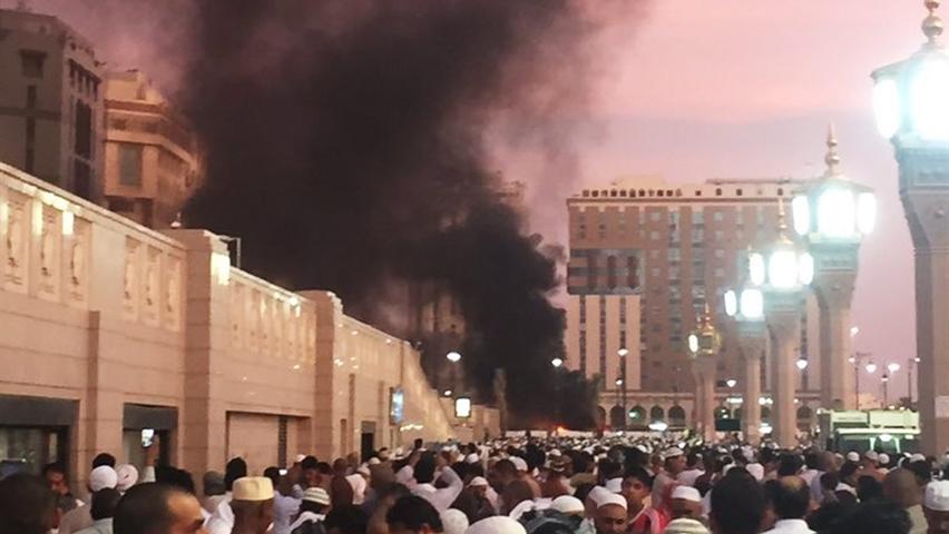 L'attacco a Medina di lunedì (Fonte: Cbs)
