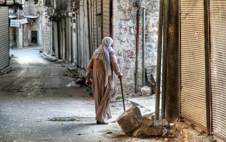 Fuori da Aleppo (Foto: Federica Iezzi)