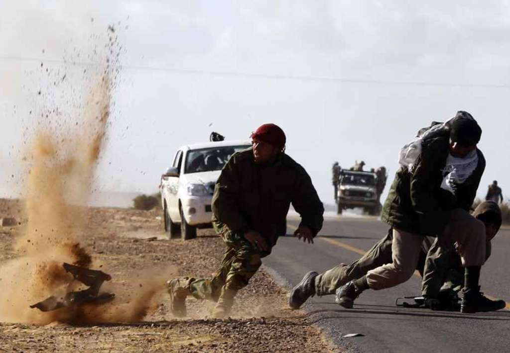Scontri a Sirte (Fonte: Paese Italia Press)