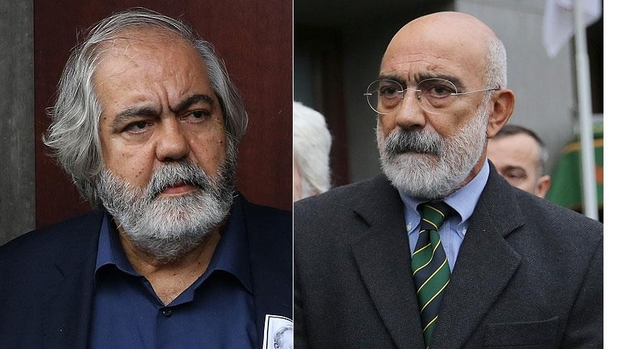 Il professor Mehmet e il giornalista Ahmet Altan (Foto: AA)