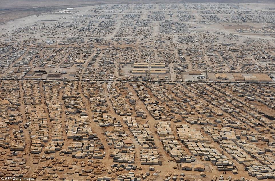 Il campo di Zaatari