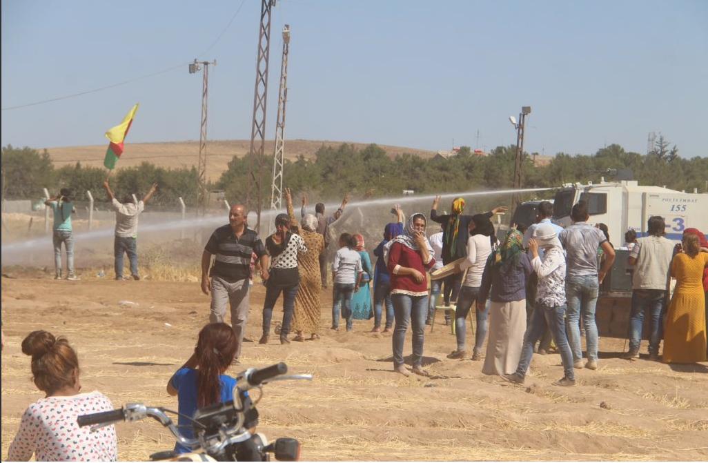 Gli scontri di ieri a Kobane, fonte Twitter