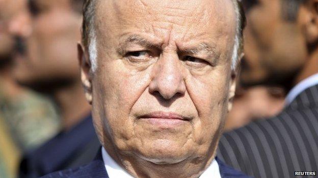 Il presidente yemenita in esilio Hadi