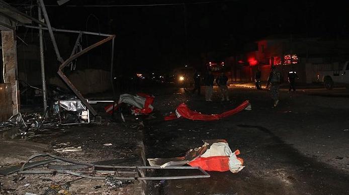 L'attentato di lunedì notte dell'Isis ad un matrimonio kurdo ad Hasakah (Fonte: Twitter)
