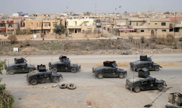 Esercito iracheno nella città liberata di Bartella (Fonte: themalaymailonline.com)
