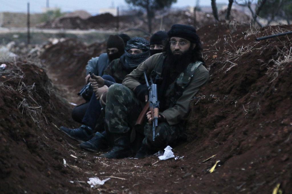 Miliziani di an Nusra (foto di REUTERS/Hosam Katan)