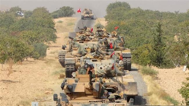 Carri armati turchi nel nord della Siria (Fonte: http://www.therussophile.org/)