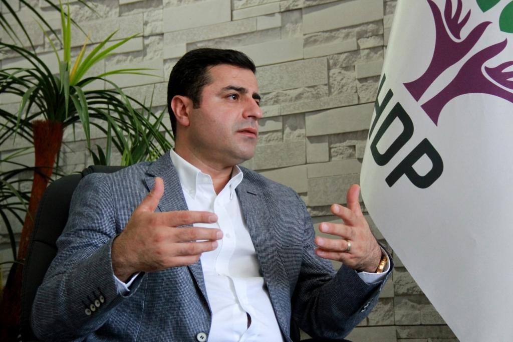 Il co-presidente dell'Hdp,Selahattin Demirtas