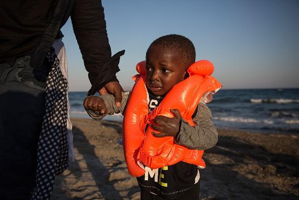 Dal 2000 al 2013 sono morti più di 23 mila migranti nel tentativo di raggiungere l'Europa via mare (Foto: Unhcr)