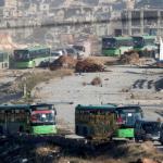 SIRIA. Terza tregua, ad Aleppo riprende l'evacuazione degli islamisti