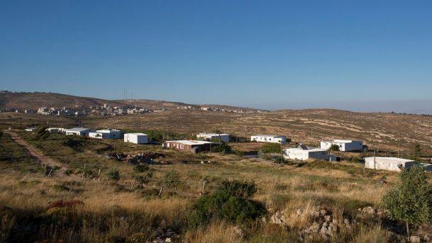L'avamposto di Amona (Fonte: Haaretz)