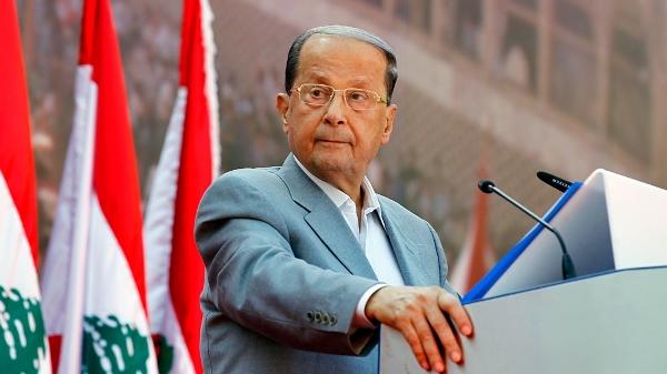 Il presidente libanese Aoun [Foto: EPA]