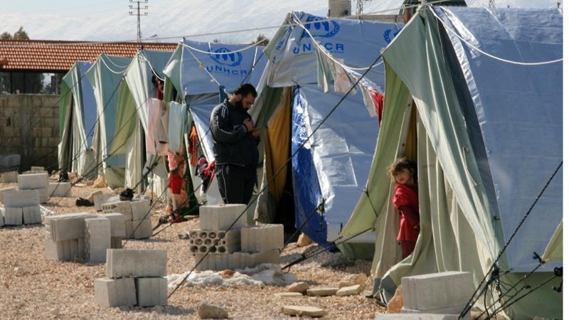 Rifugiati siriani in Libano (Fonte: al Jazeera)