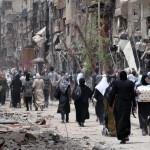 SIRIA. Il dimenticato Yarmouk enclave jihadista a Damasco