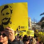 FOTO. L'Italia chiede verità per Giulio Regeni
