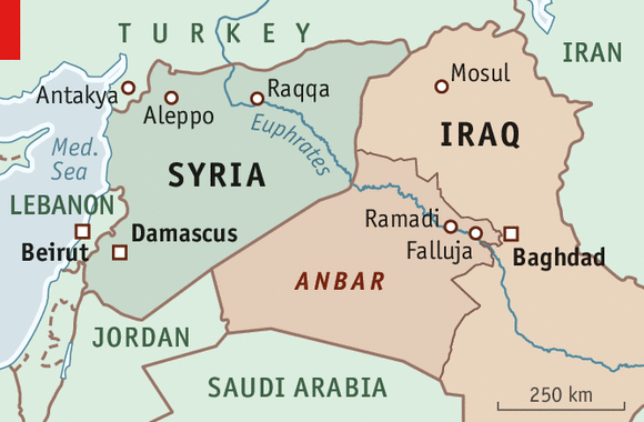 Lebanon-iraq-syria-map