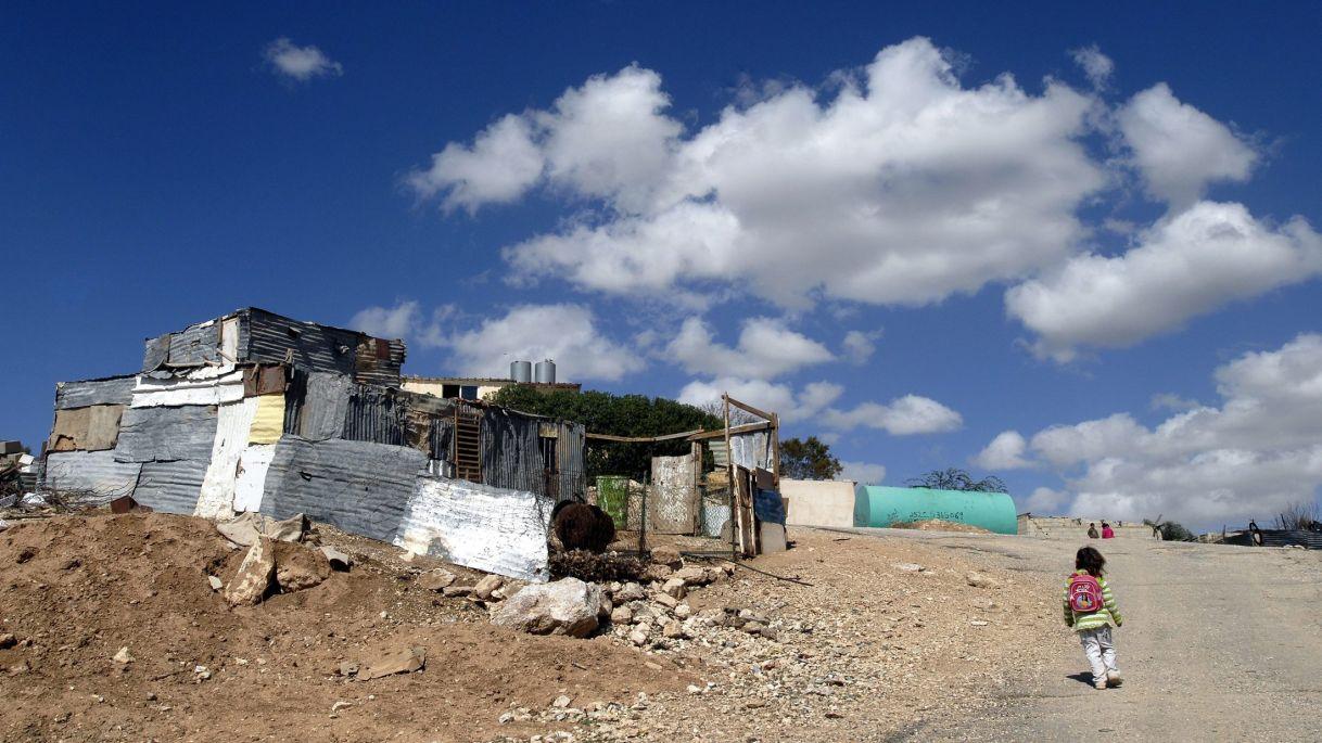 Umm al-Hiran nel 2009. (Foto:  Daniel Tchetchik. Fonte HaAretz)