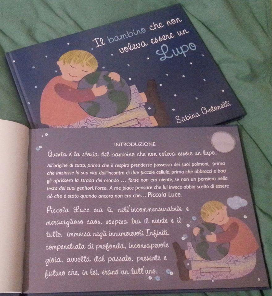 """LIBRI. """"Il bambino che non voleva essere lupo"""" di Sabina Antonelli (II  parte) f7bab85f33b2"""